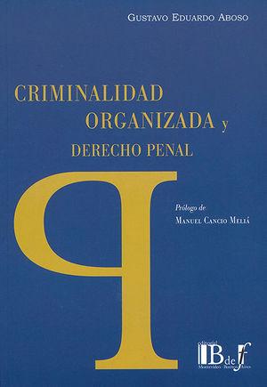 CRIMINALIDAD ORGANIZADA Y DERECHO PENAL