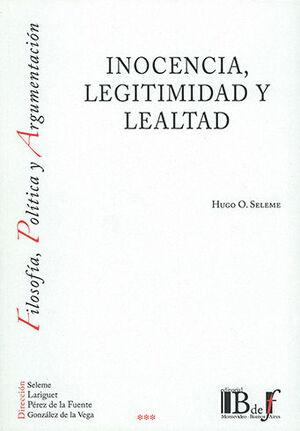 INOCENCIA, LEGITIMIDAD Y LEALTAD