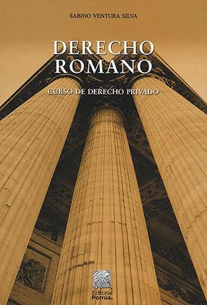 DERECHO ROMANO CURSO DE DERECHO PRIVADO (24 EDICIÓN)